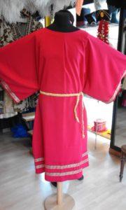 toga rossa lunga 180x300 - toga rossa lunga