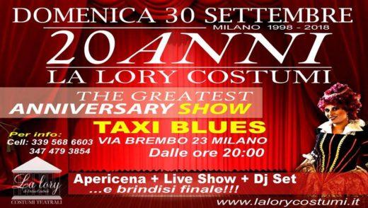 LA LORY COSTUMI FESTEGGIA 20 ANNI 520x294 - 30/09/2018 The Greatest Anniversary SHOW