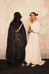 Darth Vader principessa Leila 200x300 - Darth Vader & principessa Leila